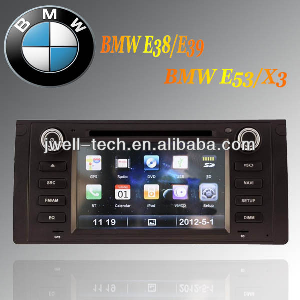 Car Headunit radio gps navigation with Russian language for BMW E39