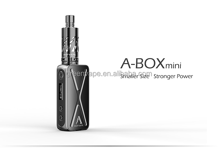 2015 Newest Top Selling Rofvape A box Mini 50w Kit High quanlity Abox Mini kit Stock shipping
