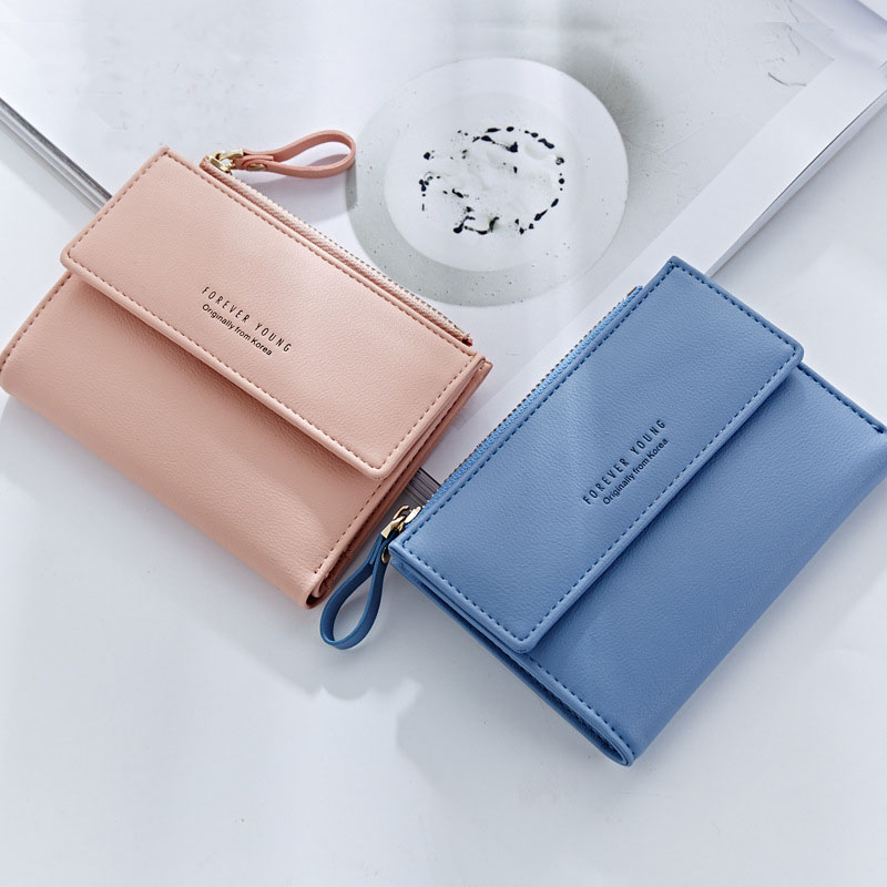 Korean style short <strong>wallet</strong> elegant ladies short <strong>wallet</strong>