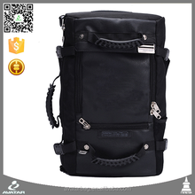 Black College School Outdoor Sports Bag Hiking Camping Backpack