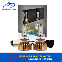 V16 Turbo Led H4 30W Led Headlight Lamp H11 for Toyota, H4 Led Headlight Bulb 12V 55W