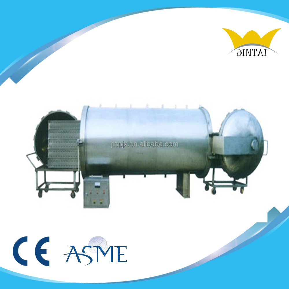 Steam or water used single pot canned food sterilizer autoclave