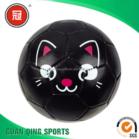 Lovely Cartoon Mini Size Inflated Balls for Children Toy Ball