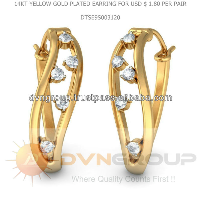 14kt yellow gold plated jewelry manufacturers