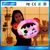 promotion gift oem customed large stuffed animals with light and music for sale