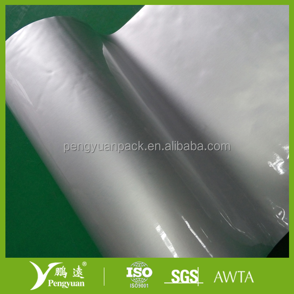 Laminating OPP film Aluminium foil LLDPE film used for high barrier packaging