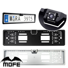 European Universal Car camera plastic license plate frame