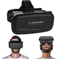 Super 3D Virtual Reality VR 3D Video Glasses For Android & Apple Smart Phones