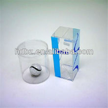 clear plastic tube packaging small gift box