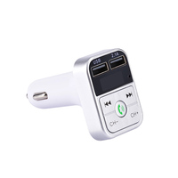 2019 High Quality Bluetooth wireless earphone hands-free call car USB charge car MP3 Player FM transmitter
