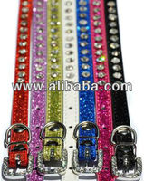 Diamante Sparkle Dog Collar
