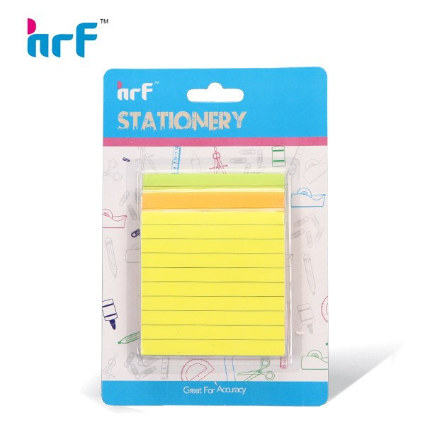 3 Color Letter Shaped Sticky Note Sets