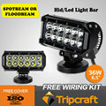 36W Offroad LED LIGHT BAR with 6120 lumen and 6000K item SM6021-36