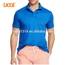 New men's Polo golf shirts dry fit soft polo shirt 100%cotton men polo shirt slim fit