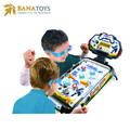 Free Shipping 2018 most popular toys hockey pinball with light and music