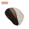 Unique Slouchy Beanie Unisex Mix Knit Skully Hat Ski Hat