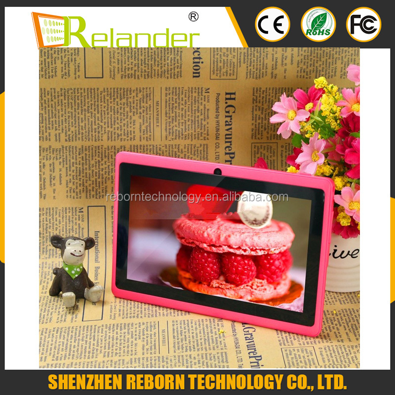 "7"" Quad Core Q88 Tablet PC ATM7031 Android 4.4 Camera WiFi/Bluetooth"