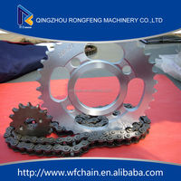High quality unicorn chain and sprocket kits for honda