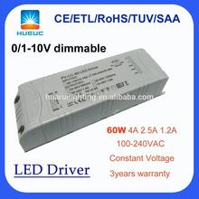 CE Rohs 100-240VAC dimmable led strip driver