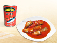 Canned food Canned Fish Canned Sardine/ Tuna/ Mackerel in tomato sauce/oil/ brine 155G 425G