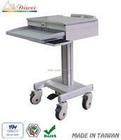 Mobile Computer and Laptop Cart, Medical Trolley Carts