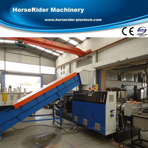High quality pp pe film granulating line/PE PP film granulator/PE PP pelletizing line