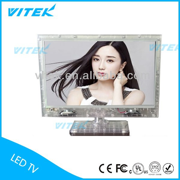 2017 Hot Vitek 13.3inch Transparent Clear Jail TV products
