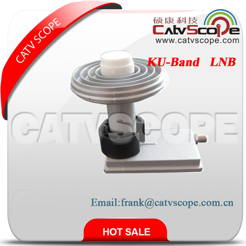 KU band feed double High gain LNB