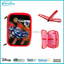 Custom Cool 2 Layers School Pencil Case for Kids Bag Factory