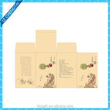 Tea boxes printed ink and wash,folding packaging box