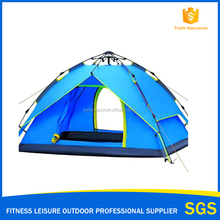 Professional supplier Double layer 3 uses 3-4person camping tents