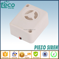 TPS-39-12V Ningbo TECO Supper Mini Hi-SPL 12V Electronic Piezo Car Siren