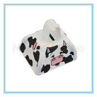 Gift Use Cow Print Pattern Cow Bell For Milk Promotion