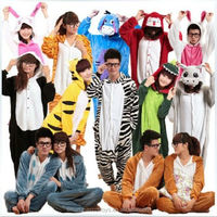 Wholesale adult couple sexy animal onesie pajamas couple onesie