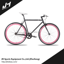Wholesale Low Price High Quality Two freewheels Hi-Ten Fixed Gear Bicycle