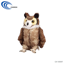 OEM Customized Plush Toys Stuffed Owl Toys China Supplier with 19 Years Experience