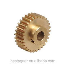 cnc machining metal gears custom small brass gears