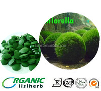 2015 chlorella season low price EU and NOP standard organic chlorella tablets