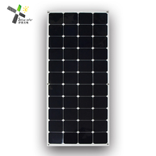 50W 100w 135w ETFE High Efficiency Marine Use Semi Flexible Solar Panel with USA Sunpower Cells