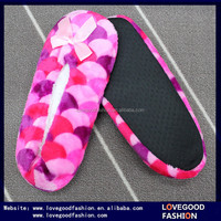 Lovegood Fashion 2015 Ladies Elegant Ballerina Slippers with White Terry Insole and Black Dots Sole