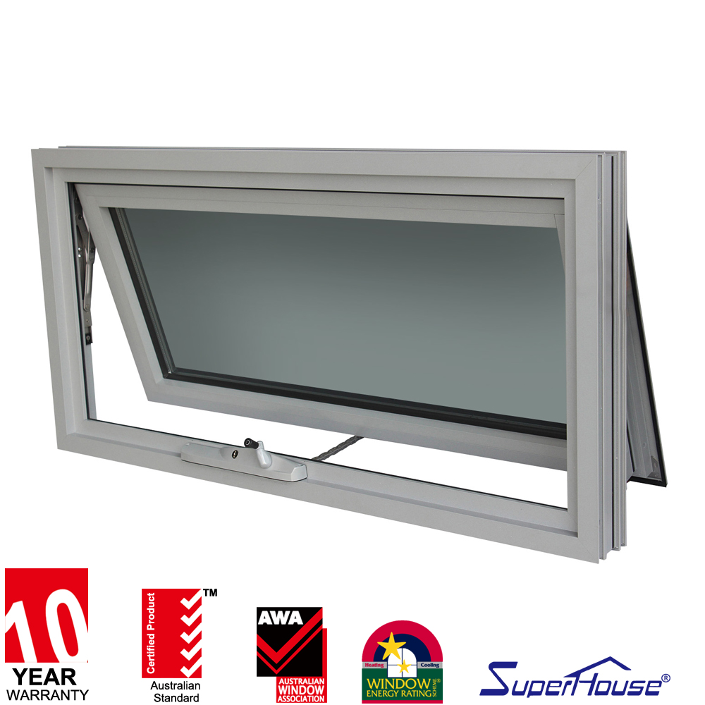 Soundproof windows - Hot Sale White Windows Used Aluminium Double Glass Sound Proof Windows