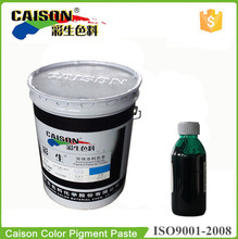 Safe pigment soap stain in green color
