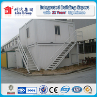 Kenya Sandwich panel fast installation and economical combined prefabricated container house