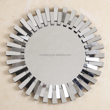 strings frame sunburst round wall mirror decorative mirror strips