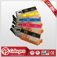 auto reset chip 670XL 671XL ink cartridge for canon PIXMA MG7766 printer cartridges