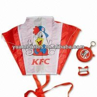 promotional pocket soft folding kite