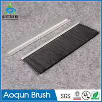 Newest hot and popular product door seal brush aluminum window rubber seal