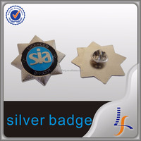 Own Logo Design Customize Metal Pin Badge Promotional