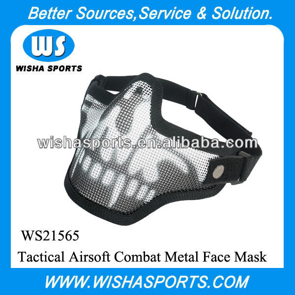 Tactical Airsoft Military Army Combat Metal Face Mask
