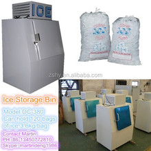 CE Cold Wall Outdoor Bagged Ice Merchandisers with -12 degrees